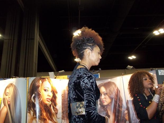 The natural Hair Show in Atlanta Georgia